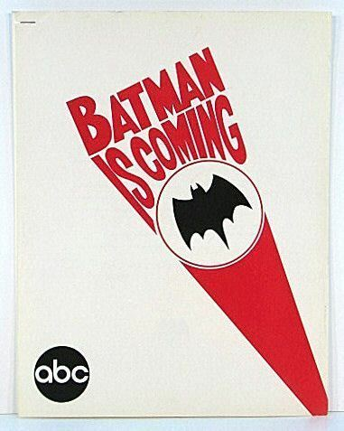 RARE Batman ABC TV PRESS Release Verpackunget Nov 1965 NM 13 Pgs w Pheißos & Info