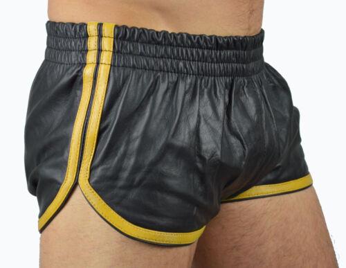 5400 Leder Sports Shorts,Ledershorts,leather shorts,lederhose,kürzehose,hotpants