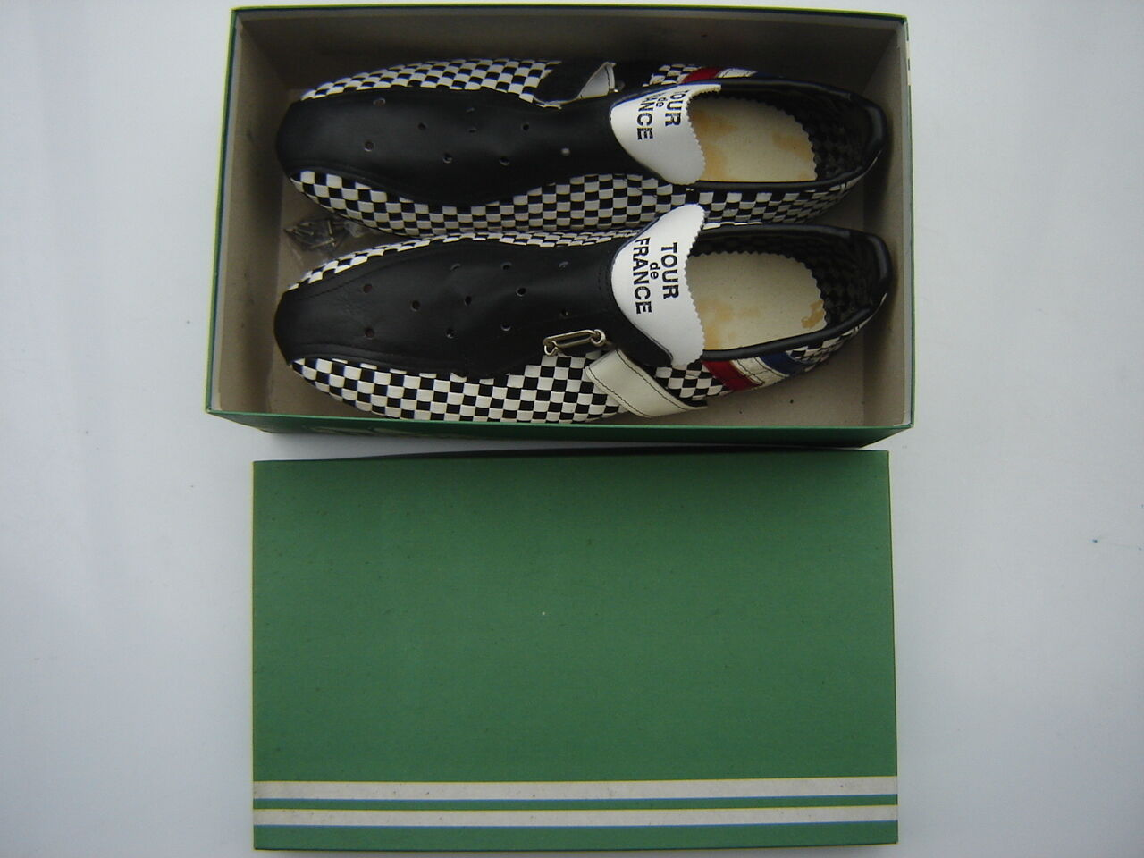 TOUR DE FRANCE RACING BICYCLE SHOES BRAIDED SIZE  41  VERY RARE  NOS  NIB  sale