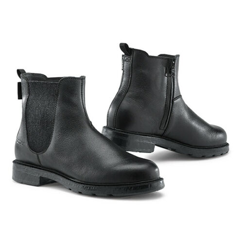 TCX STATEN Waterproof Leather Vintage Motorcycle Cruiser Ankle Shoes//Boots