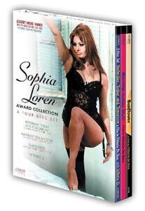 Sophia-Loren-Sophia-Loren-Award-Collection-New-DVD-Boxed-Set-Subtitled-Wi