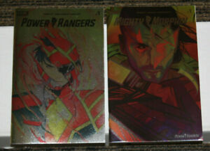 NM Boom Mighty Morphin #1 LCSD Foil Variant 2020 Comics 1st Print