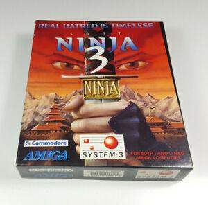 The-Last-Ninja-3-by-System-3-Commodore-Amiga-Spiel-Big-Box-OVP-CIB-sgZ-VGC
