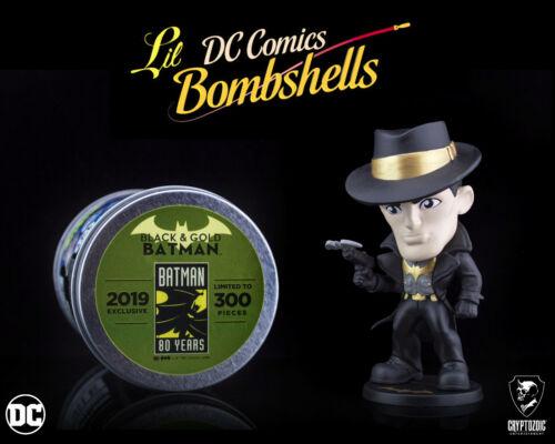 Series 3 Vinyl Figure Black /& Gold Batman DC Lil Bombshells