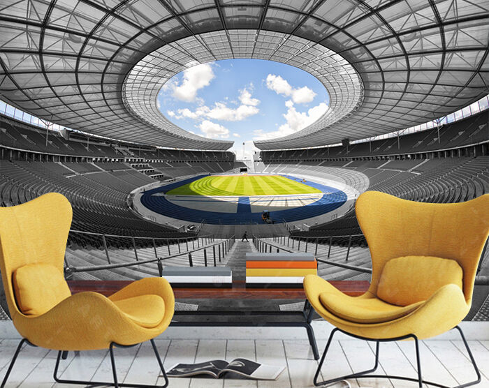 3D Grand Stadium 407 WallPaper Murals Wall Print Decal Wall Deco AJ WALLPAPER