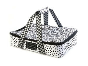 SCOUT-Mackenzie-Childs-DOTTY-Insulated-THE-HOT-DATE-Casserole-Carrier-m19-2
