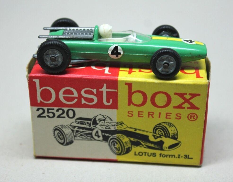 Original BEST BOX Nº 2520 LOTUS FORMULA I - 3L. Race Car with Box