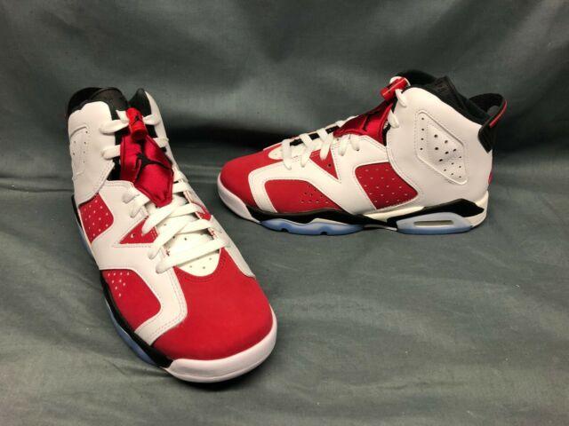 2021 Nike Air Jordan 6 Retro Carmine 384665-106 GS Size 6.5y for ...