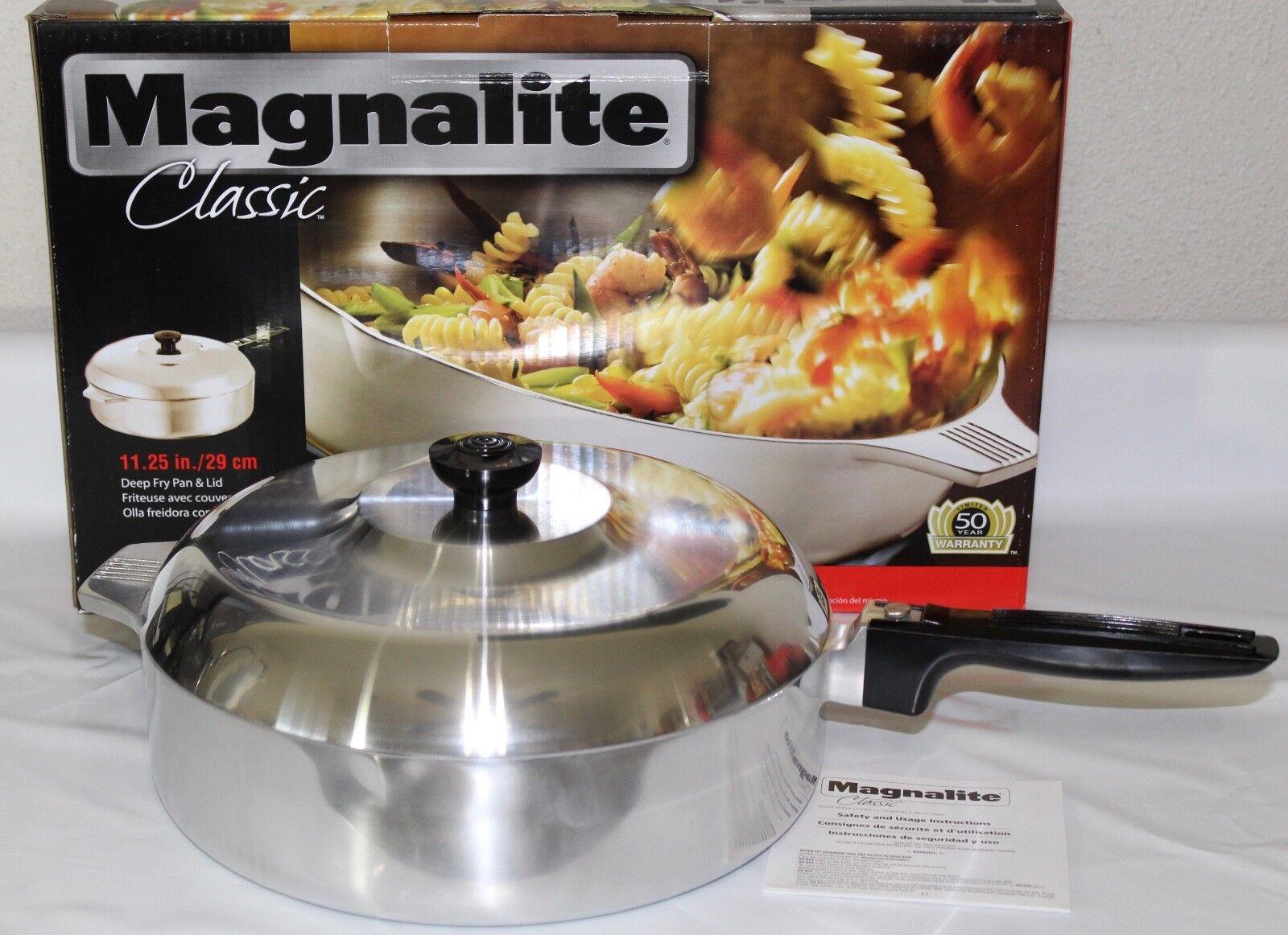 Magnalite Classic 11.25  Deep Fry Pan & Lid, 1040818
