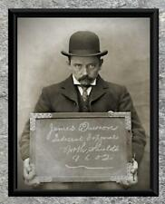 What ... Indecent Exposure Mugshot Early 1900's .. Antique 5x7 Photo Print