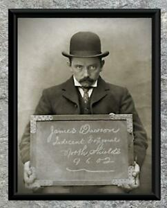 What-Indecent-Exposure-Mugshot-Early-1900-039-s-Antique-5x7-Photo-Print