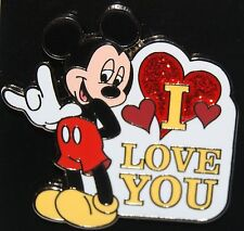 "Disney Mickey Sign Language ""I Love You"" Pin"