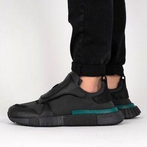 online retailer 9a9a7 129da Image is loading Adidas-Futurepacer-size-13-Core-Black-Carbon-White-