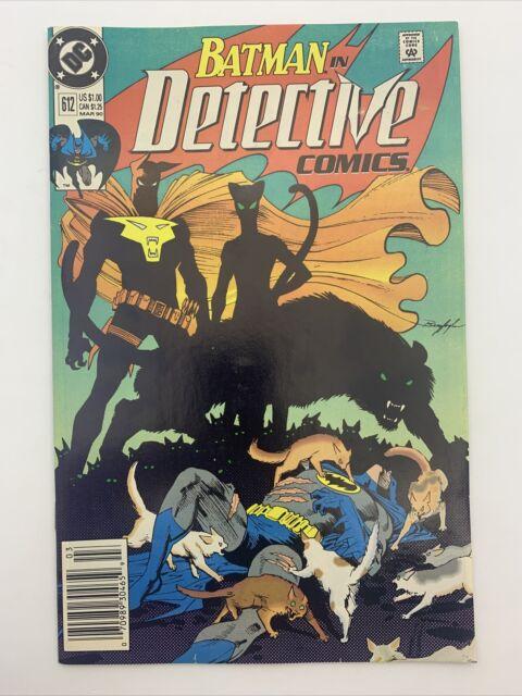 DC Detective Comics #612 Batman Comic Book Catwoman 1990