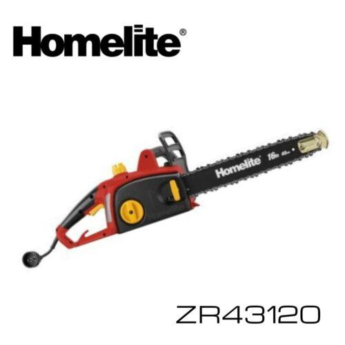 """HOMELITE ZR43120 16/"""" 12 Amp Electric Chain Saw w WARRANTY CHAINSAW"""