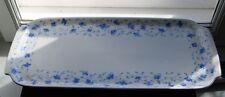 Kuchenplatte Arzberg 1382 Blaublüte Hermann Gretsch alt Blaue Blume Königskuchen