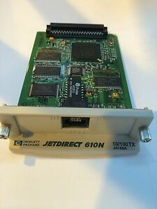 HP-JetDirect-610N-J4169A-Ethernet-Network-Card-Server-Warranty