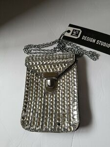 NWT-Design-Studio-JEWELED-Crossbody-Rhinestine-Purse-Necessities-Phone-MSRP-39