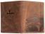 Indexbild 2 - Zander-Fisch-Angler-Geldboerse-Naturleder-Geldbeutel-Rindleder-Rustikal-Portmonai
