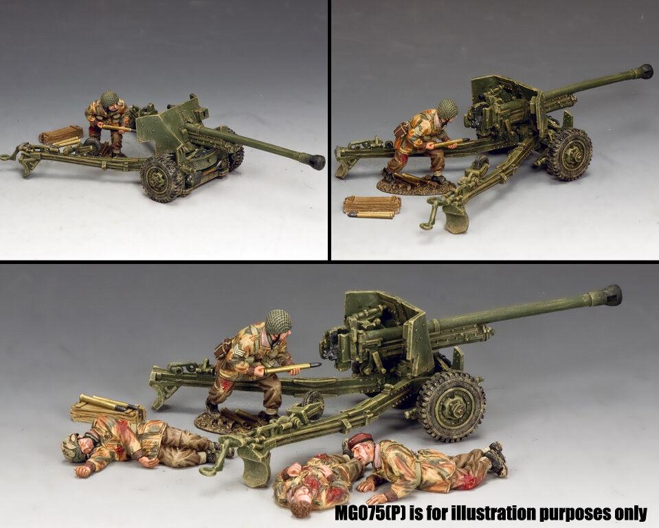 KING & COUNTRY OPERATION MARKET GARDEN MG074 6 PDR. ANTI TANK GUN SET MIB