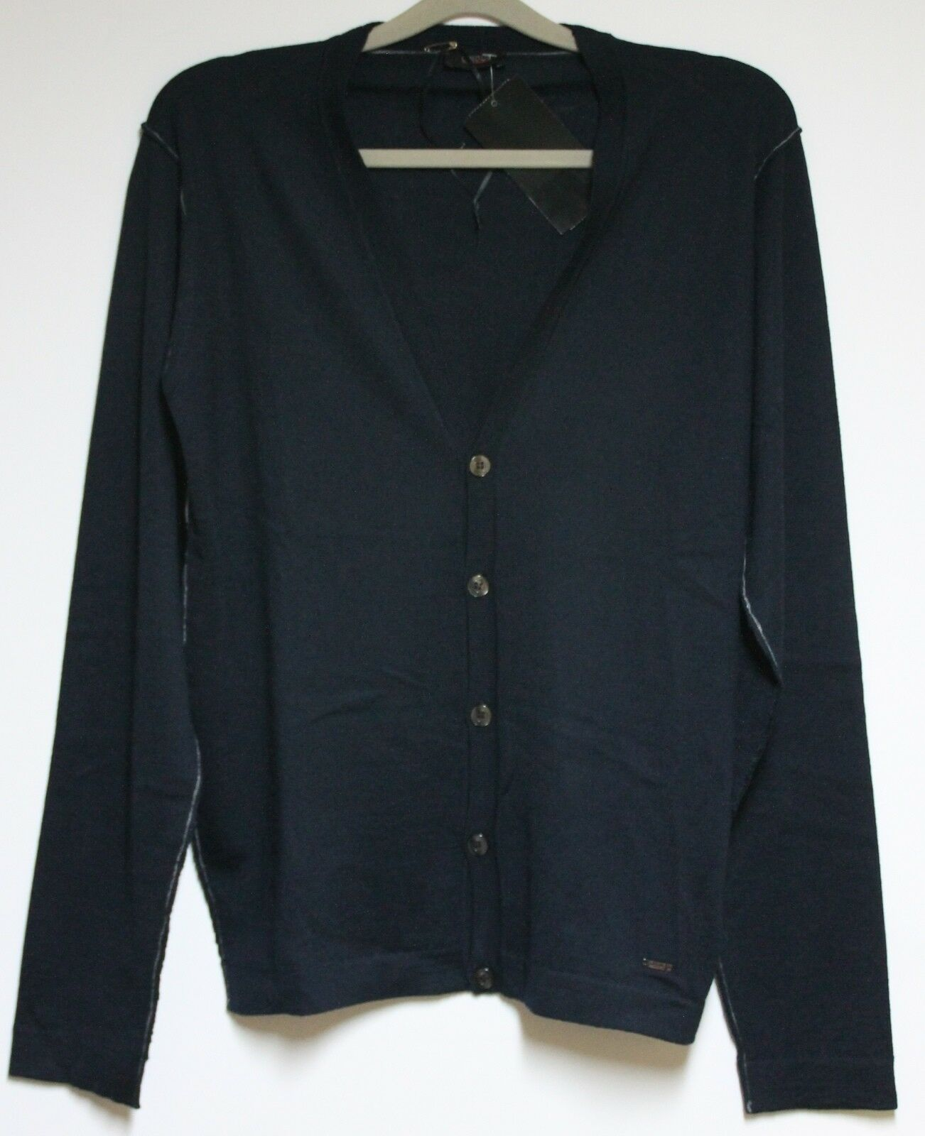 Cinque Knit Cardigan Cimiller Men's in Dark bluee SIZE S NEW with LABEL