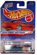 1998 Hot Wheels #644 First Edition #9 '63 T-Bird (red car card)