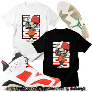 ce89998246e0 NEW CUSTOM T SHIRT Air Jordan 6 Gatorade matching TEE JD 6-9-1 Gator ...