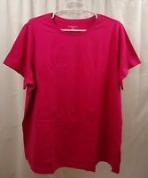 Women's Lands End Crew Neck T Shirt 2x