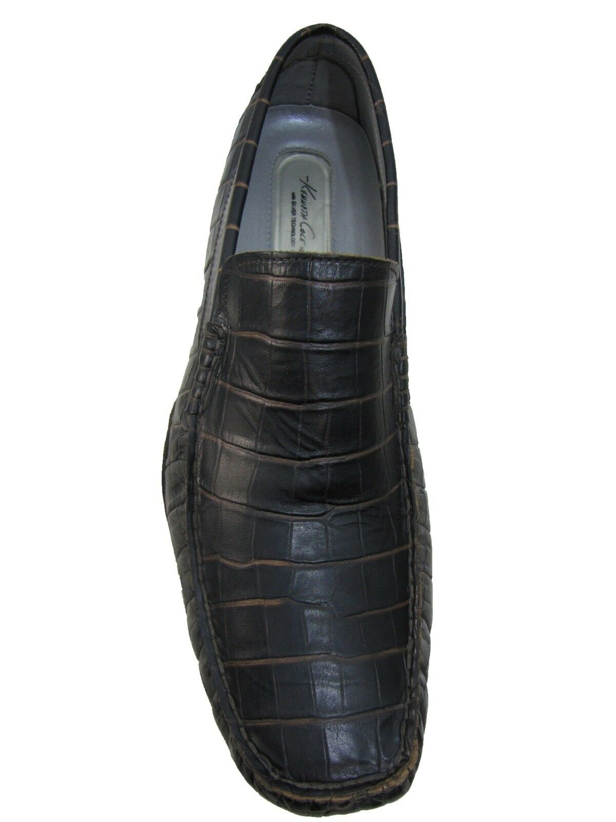 Scarpe casual da uomo  Kenneth Cole New York uomos M72118 Slip On Business Casual Loafers Croc Shoes