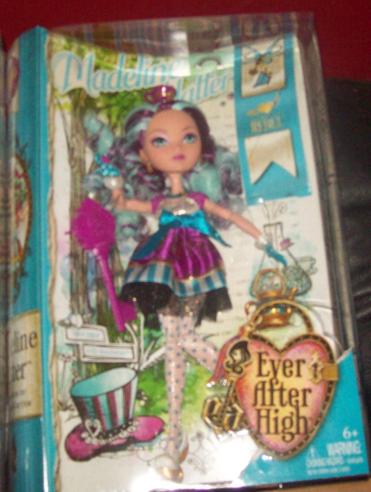 Mattel Madeline  Maddie  Hatter Ever After High Doll   NIB