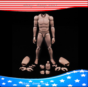 Caucasian Skin 1//6 Scale Male Body Series w//Highly Cost-Effective Edge MX02-A