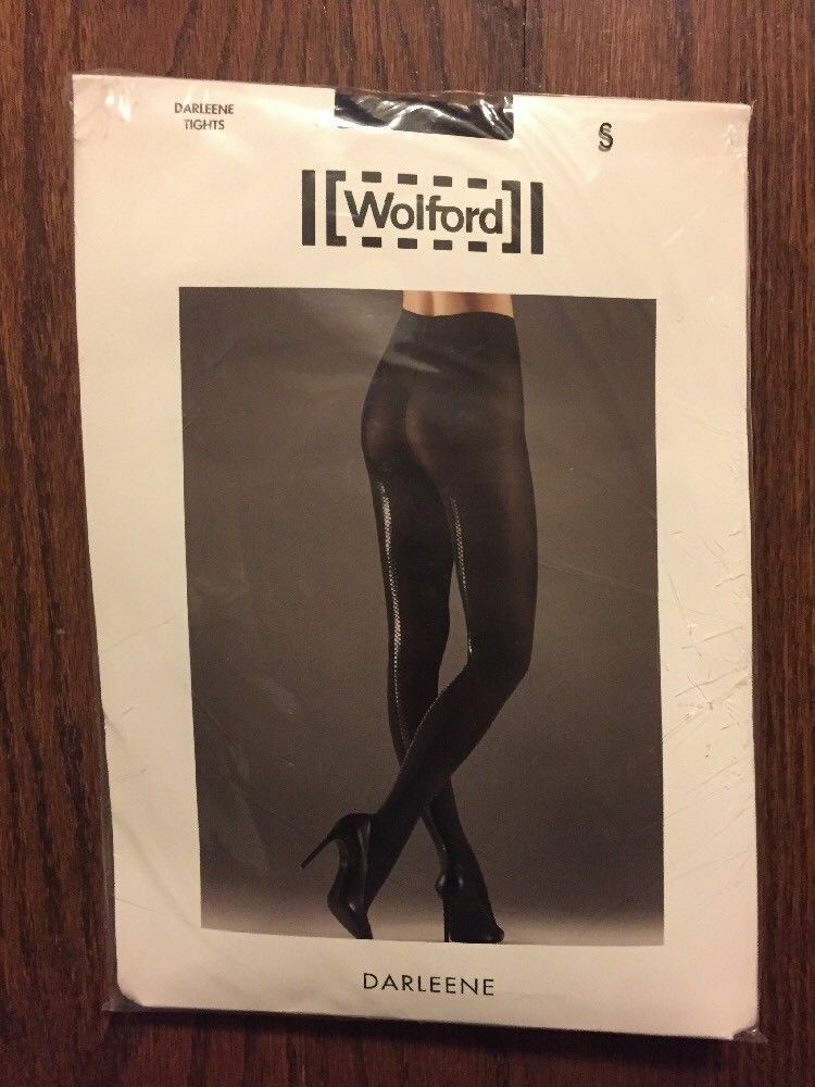New Wolford Darleene Tights Size S Pantyhose Made in Austria Retail  115.00