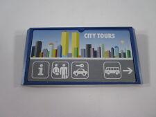 "PLAYMOBIL- ""LOTE DE GRAN CARTELON CITY TOURS AEROPUERTO"" - LUJO!"
