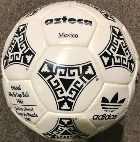 Adidas Azteca Mexique Coupe du Monde Ballon 1986 Taille 5