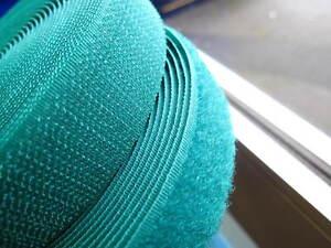 5-Metros-verde-25mm-cinta-para-corchetes-sewable-costura-tipo-tack