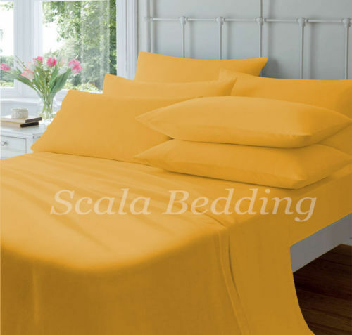 NEW 800 THREAD COUNT BED SHEET SETS 100% EGYPTIAN COTTON TWIN SIZE gold COLOR