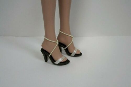 """Debs LT YELLOW Ribbon Sandals High Hi Heel Doll Shoes FOR 16/"""" Tyler Wentworth"""