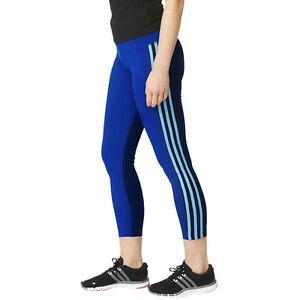 adidas ClimaLite Performance Fitness Tight Blau Damen Hose | eBay