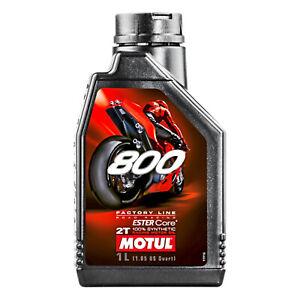 1-Lt-Olio-Moto-Motul-800-2T-Factory-Line-Road-Racing-100-Sintetico-Ester-Core