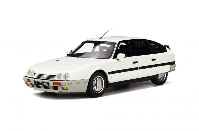 Modello di auto in resina OTTO CITROEN Cx2.5 GTI Turbo 2 (Bianco Meije) 1 18 + REGALO