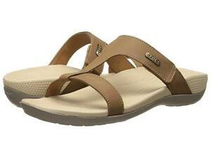 d0c61c243235 Crocs Ella Comfort Path Slide On Sandal Hazelnut Mushroom Youth Size ...