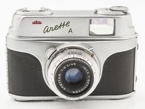 AKW-Arette-A-Kamera-Sucherkamera-Color-Isconar-1-2-8-45-Optik
