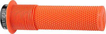Death Grip Lock-On Grip DMR Deathgrip Grips Orange Flange