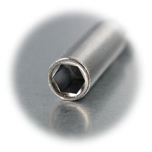 "Magnet Bit Holder for 1//4 /"" Bits 60mm Long Bit Holder Bit Adapter Magnetic Crv"