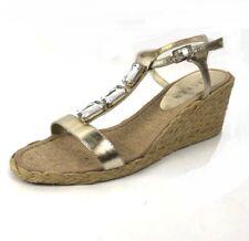 c123e72dc5a0 Lauren Ralph Lauren Women s Indigo Wedge Sandal Black 11 B US for ...