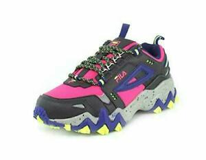 FILA WOMEN'S OAKMONT TRAIL / HIKING PINK BLUE BLACK SHOES SIZE 11