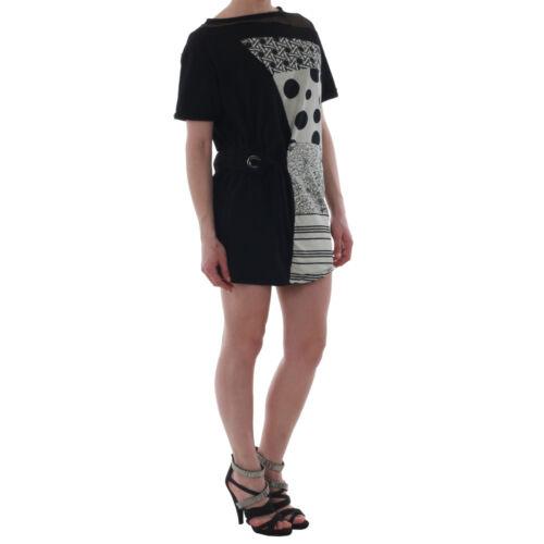 Rinascimento Women Round Dress Short Neck Black 6534 fxgnfrqRw