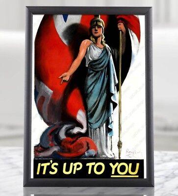 War Time Militaria History Collectibles Decor Art American Propaganda Poster