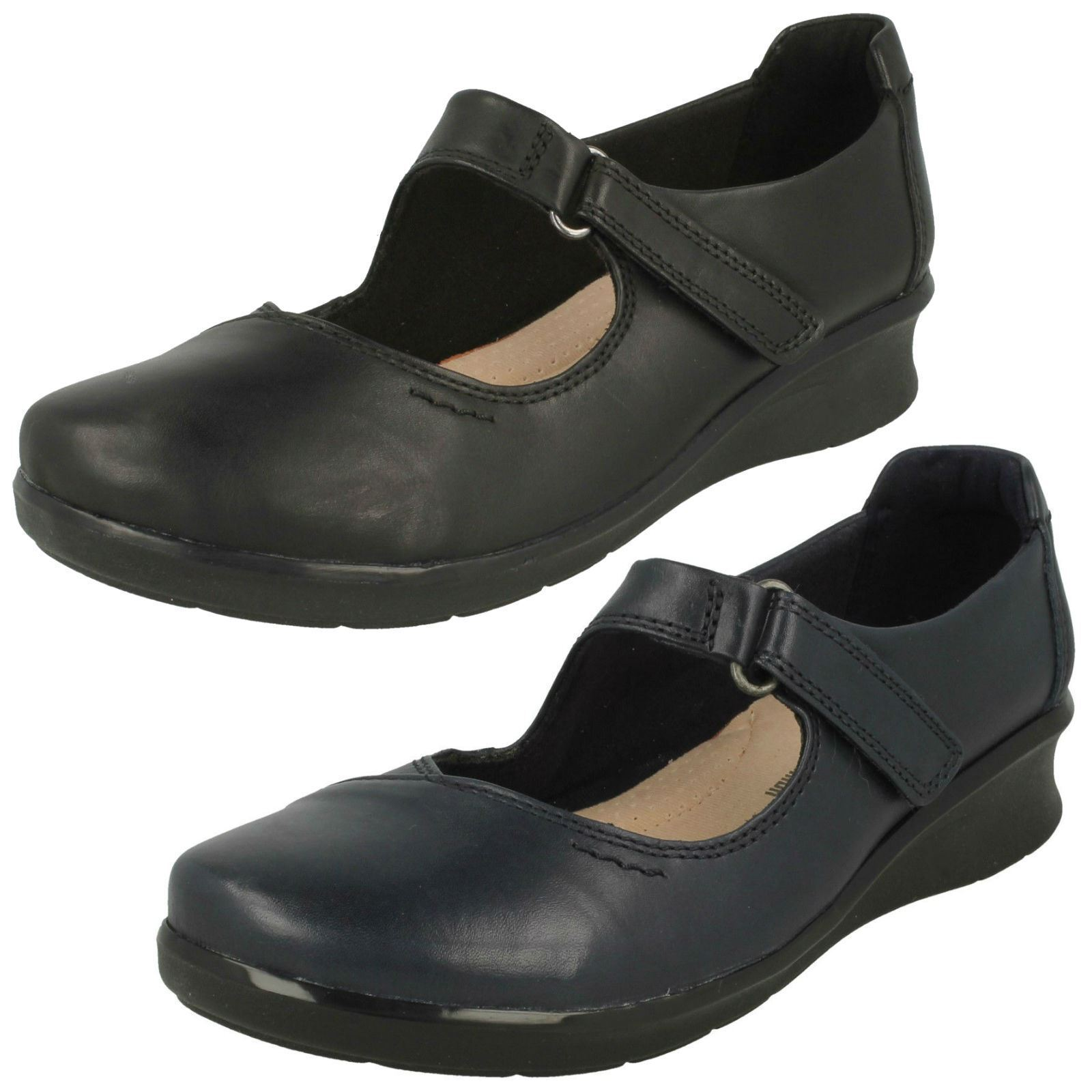 CLARKS Hope Henley Ladies Wide Fit Casual shoes