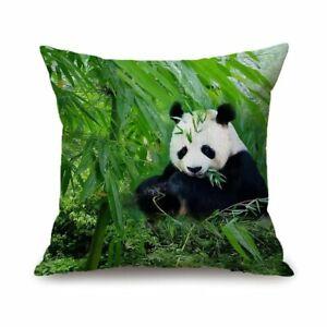 Panda-Pillow-Case-Reversible-Sequin-Glitter-Throw-Cushion-Cover